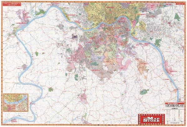 Map Of Northern Kentucky My Blog - Kentucky city map