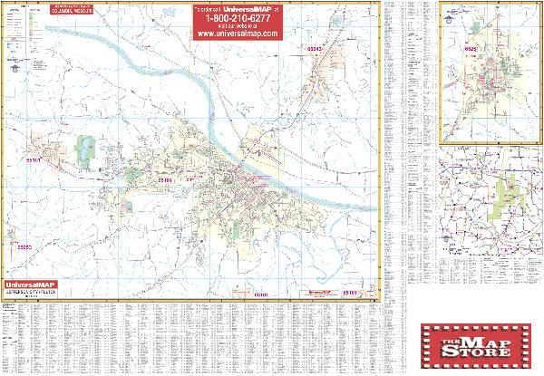Jefferson City Street Map Page Free Maps Globe Globes Geo Atlases World Map World Usa United States Us Usgs U S G S Topo Topographic